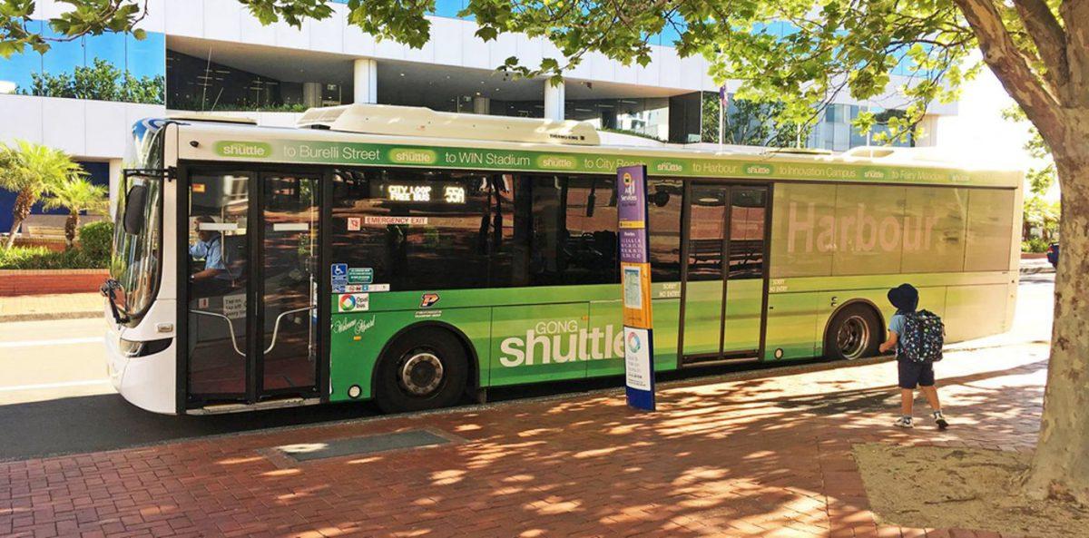 Free Wollongong shuttle bus