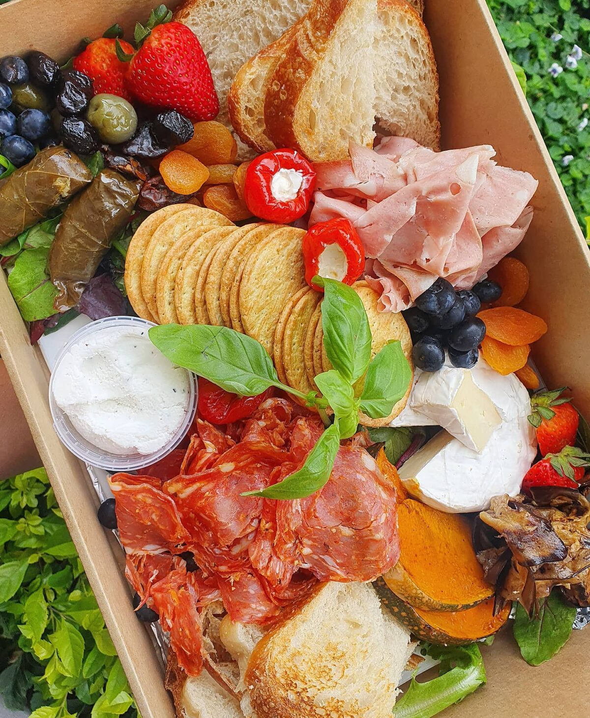 Grazing box from Deli & Dine Wollongong