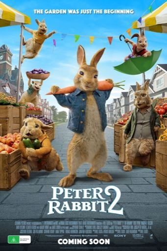 Watch peter Rabbit 2 at the movies in Wollongong