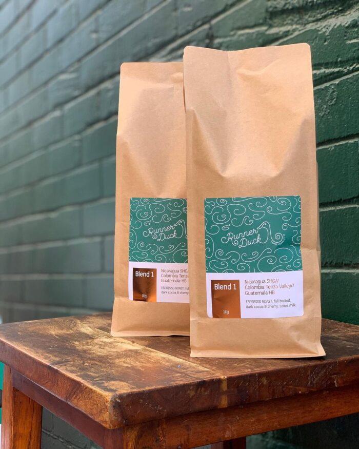 Runner Duck coffee blend Wollongong